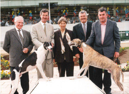 Official opening of the new grandstand in Kingdom Greyhound Stadium on June 1st 1997