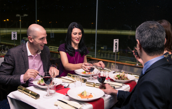 Galway Greyhound Stadium is the perfect venue for your work Christmas Party, girls night out or Family Christmas get-together in Galway
