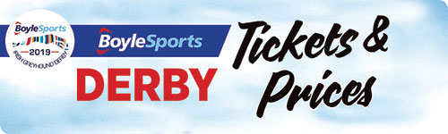Click here to find our more about prices for the 2019 BoyleSports Irish Greyhound and to get your tickets for this year's Final
