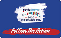 Follow the action in the 2020 BoyleSports Irish Greyhound Derby on TV, online or on social media. Click here to find out more.