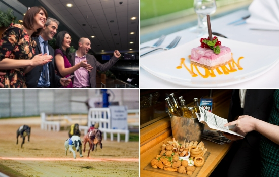 For great food, great company and great entertainment and racing head to your local Greyhound Stadium for your January Christmas Party
