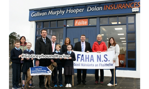 Faha NS will be fundraising at the Kingdom Greyhound Stadium this Friday 2nd March