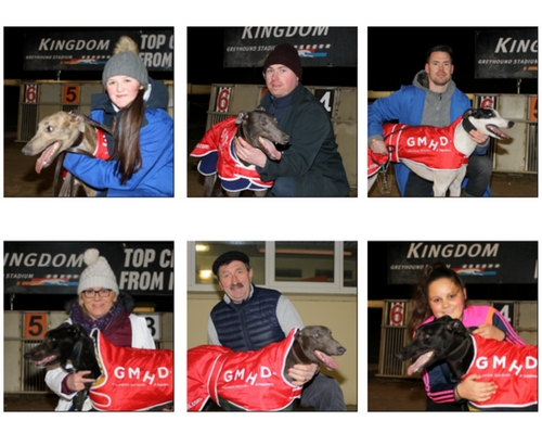 Best of luck to the six finalists in the 2018 GMHD.ie Juvenile Classic at the Kingdom Greyhound Stadium in Tralee