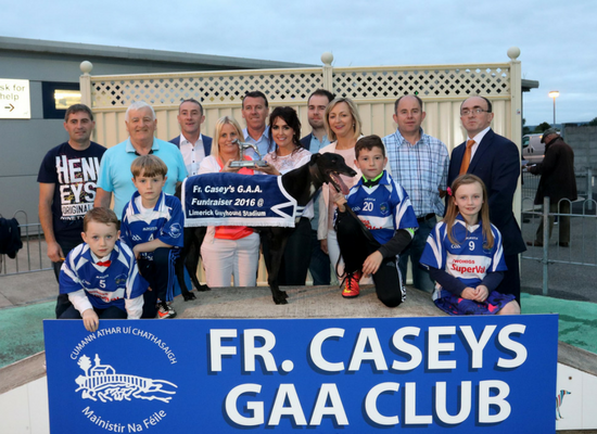Fr Caseys GAA Fundraising night at Limerick Greyhound Stadium
