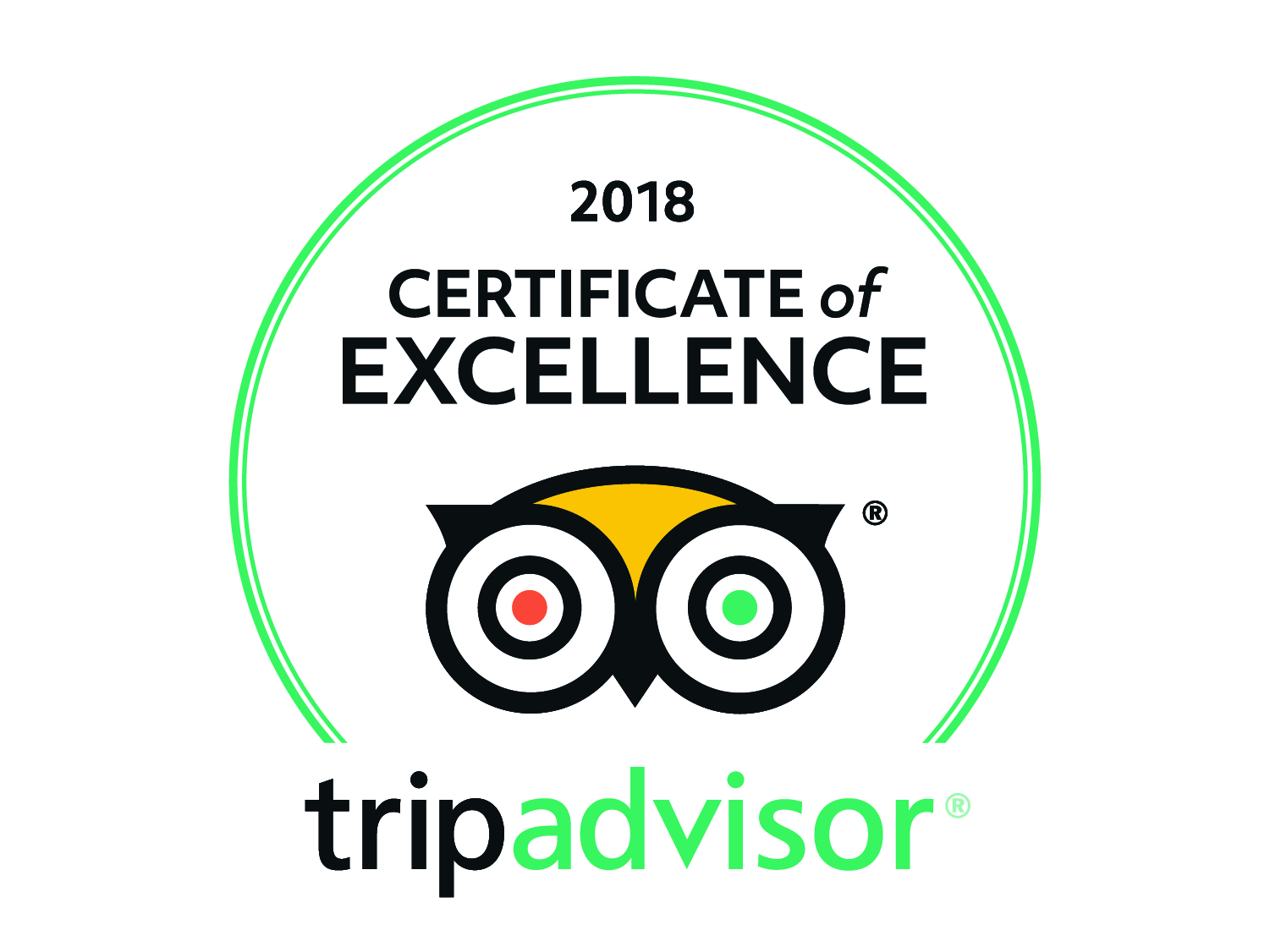 Shelbourne Park Greyhound Stadium is delighted to once again be awarded a Tripadvisor Certificate of Excellence in 2018